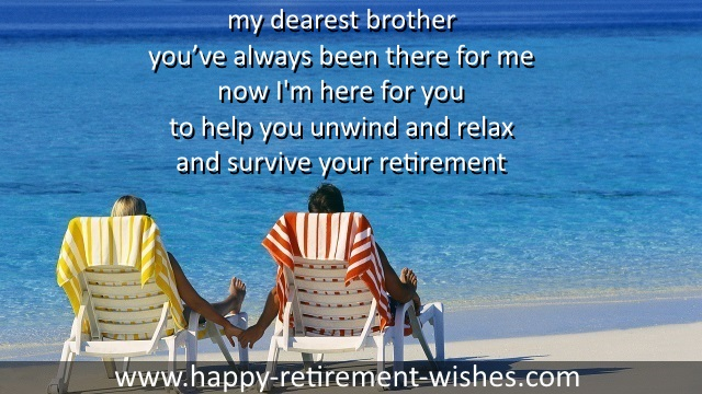 religious retirement verses brother
