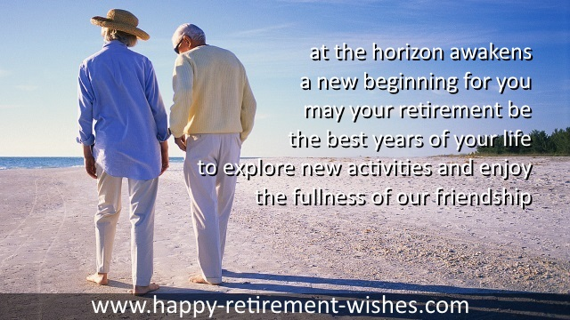 retirement sayings good friend