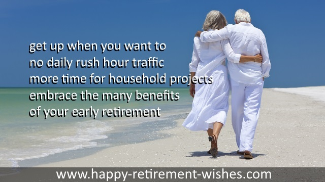 early retirement celebration wishes